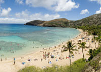 Hanauma Bay Hawaii Ferien